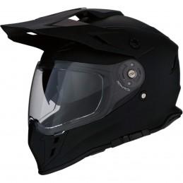 Prilba na moto Z1R Range Flat black matt