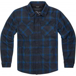 Bunda Icon Upstateride Flannel blue
