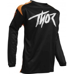 Dres Thor Jersey S20Y Sector detský black/orange
