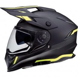 Prilba na moto Z1R Range Uptake black yellow