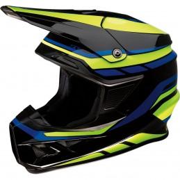 Prilba na moto Z1R FI MIPS Flank black yellow blue