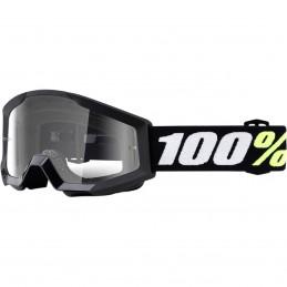 MX okuliare 100% Strata mini clear black