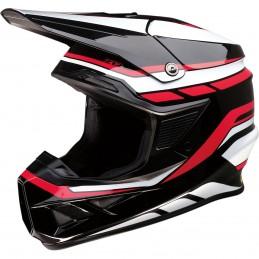 Prilba na moto Z1R FI MIPS Flank black white red