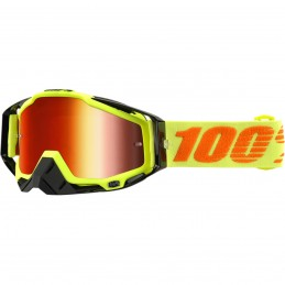 MX okuliare 100% Racecraft Attack mirror yellow