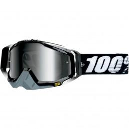 MX okuliare 100% Racecraft Abyss mirror black