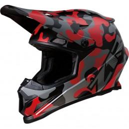 Prilba na moto Z1R Rise Camo Red