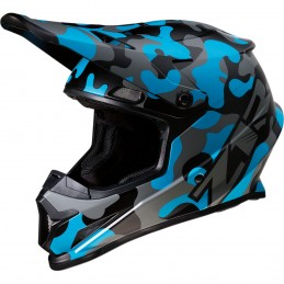 Prilba na moto Z1R Rise Camo Blue