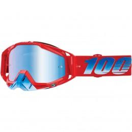 MX okuliare 100% Racecraft Kuriakin mirror blue
