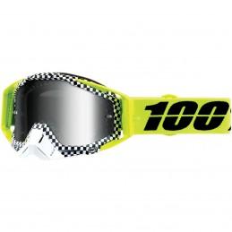 MX okuliare 100% Racecraft Andrera mirror yellow