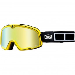 MX okuliare 100% Barstow Burnworth racing mirror gold