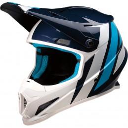 Prilba na moto Z1R Riseevac blue white