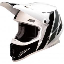 Prilba na moto Z1R Riseevac white black grey