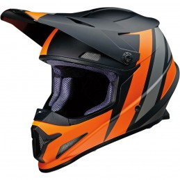 Prilba na moto Z1R Riseevac black grey orange