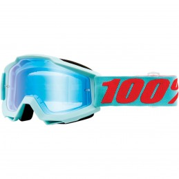 MX okuliare 100% Accuri Maldives mirror blue