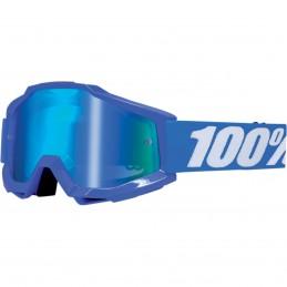 Mx okuliare 100% Accuri Reflex mirror blue