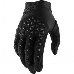 Pánske rukavice 100% AIRMATIC BLACK/CHARCOAL