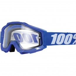 Mx okuliare 100% Accuri Rexlex Enduro clear blue