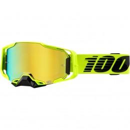MX okuliare 100% Armega Nuccir mirror gold