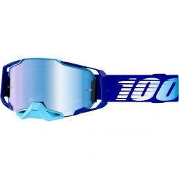 MX okuliare 100% Armega royal mirror blue