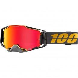 MX okuliare 100% Armega Falcon5 mirror red