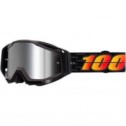 MX okuliare 100% Racecraft + Costume mirror silver