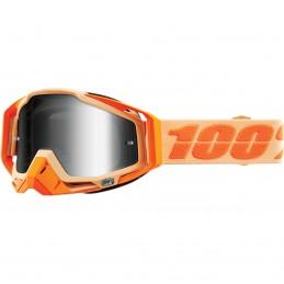 MX okuliare 100% Racecraft Sahara mirror silver