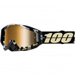 MX okuliare 100% Racecraft ERGOFLH mirror gold