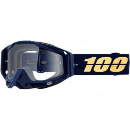 MX okuliare 100% Racecraft Bakken clear