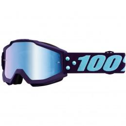 MX okuliare 100% Accuri Maneuver mirror blue