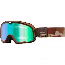 MX okuliare 100% Barstow Pendleton green