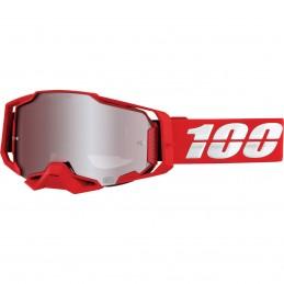 MX okuliare 100% Armega War Red