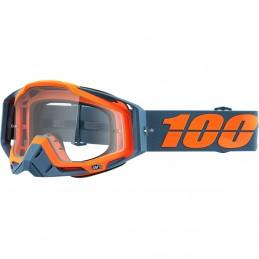 MX okuliare 100% Racecraft KILROY S20 clear