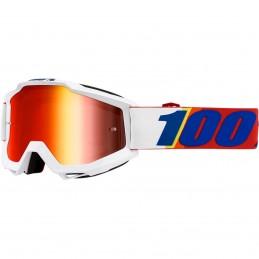 MX okuliare 100% Accuri Minima S20 mirror