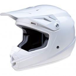 Detská prilba na moto Z1R Rise white gloss
