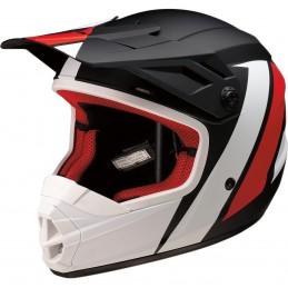 Detská prilba na moto Z1R Rise evac black red white