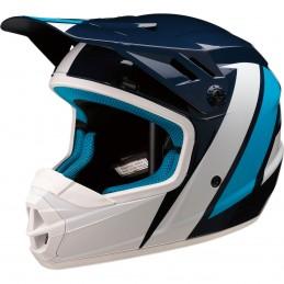 Detská prilba na moto Z1R Rise evac blue white