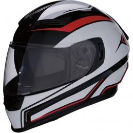 Prilba na moto Z1R Jackal red black white