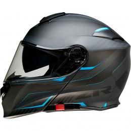 Prilba na moto Z1R Solaris Scythe black blue