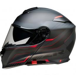 Prilba na moto Z1R Solaris Scythe black red