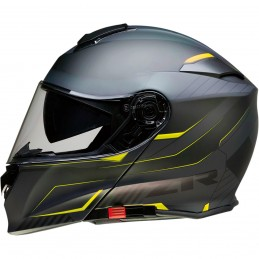 Prilba na moto Z1R Solaris Scythe black yellow