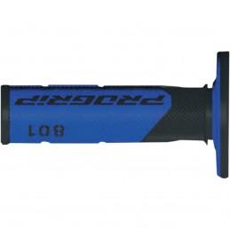 Gripy PRO GRIP double density offroad 801 s uzavretými koncami čierno-modré