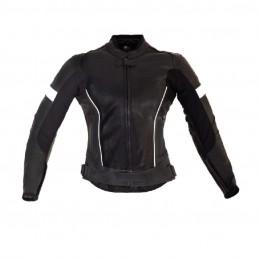 Dámska bunda TRP Swift čierna/biela