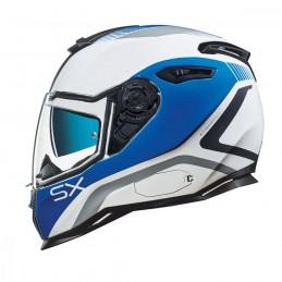 Prilba na motocykel NEXX SX.100 Popup blue