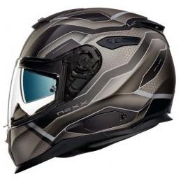 Prilba na motocykel Nexx SX.100 I.Flux black MT