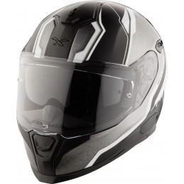Prilba na motocykel Nexx SX.100 Blast black MT