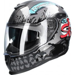 Prilba na motocykel Nexx SX.100 Big Shot Dark Gray