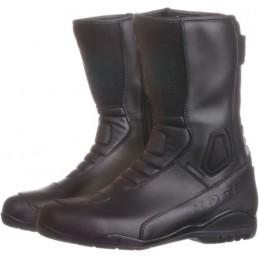 Topánky na motocykel KORE Touring Raw Leather čierne