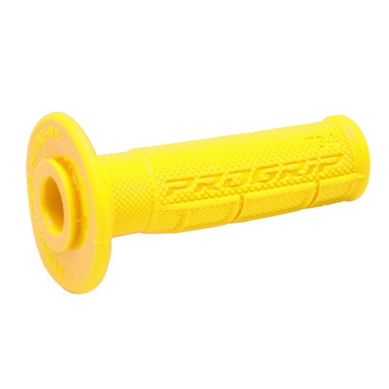 Gripy PRO GRIP single density offroad  794 so zatvorenými koncami žlté