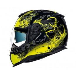 Prilba na motocykel Nexx SX.100 Toxic black/neon/yellow