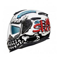 Prilba na motocykel Nexx SX.100 Big Shot White